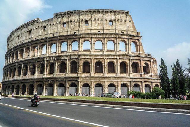 Italia Roma Colosseo