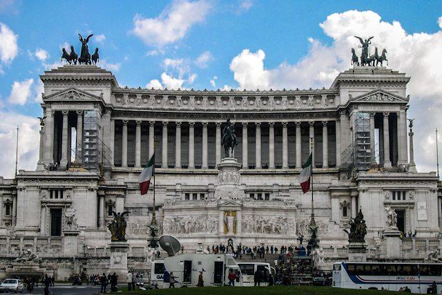 Italia Roma Vittorio Emanuele II