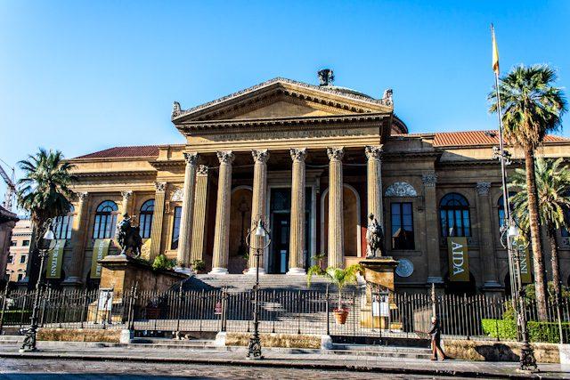 Italia Sicilia Palermo Teatro Massimo