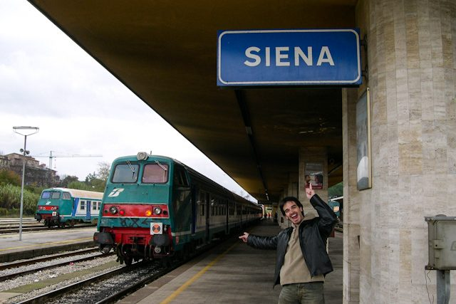 Italia Siena Estacion Tren