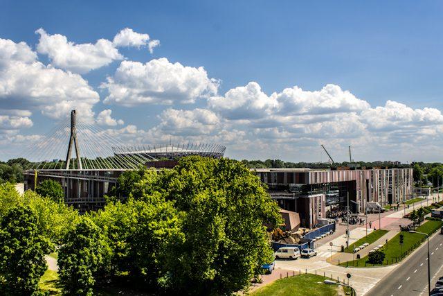 Polonia Varsovia Centro Ciencia Copernico Biblioteca Universitaria