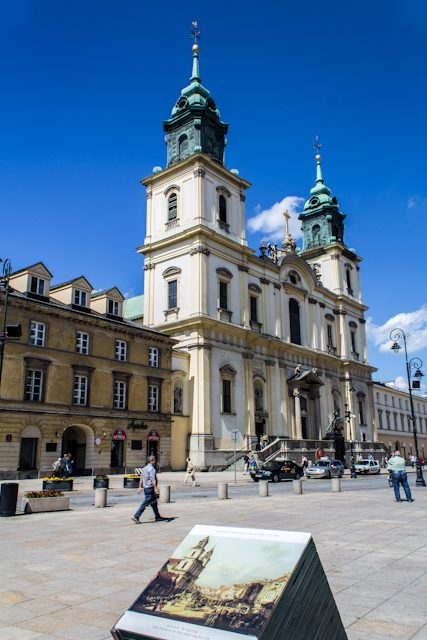 Polonia Varsovia Iglesia Santa Cruz Cuadro Bellotto