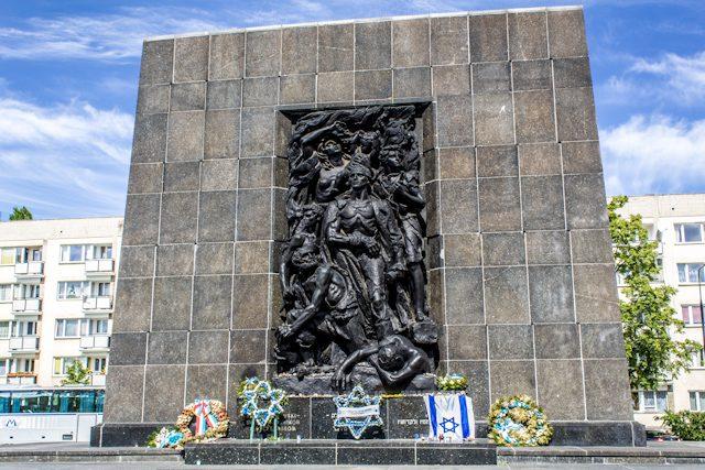Polonia Varsovia Monumento Heroes Gueto