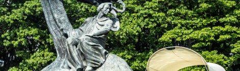 Polonia Varsovia Parque Real Lazienki Krolewskie Monumento Chopin