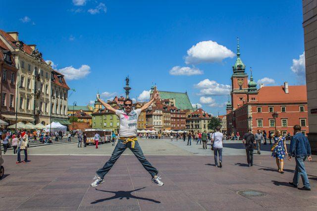Polonia Varsovia Plaza Castillo Salto