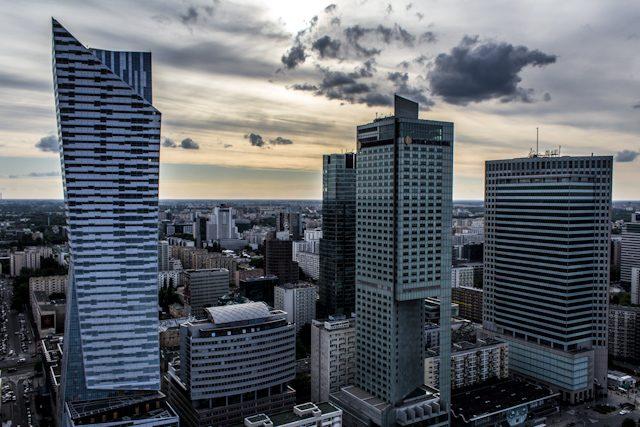 Polonia Varsovia Rascacielos