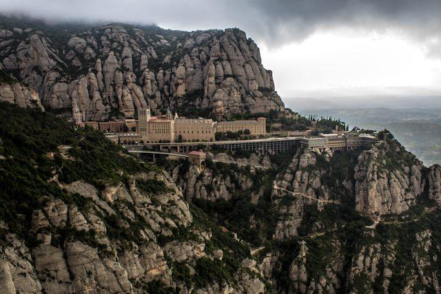Barcelona Montserrat Mirador San Miguel