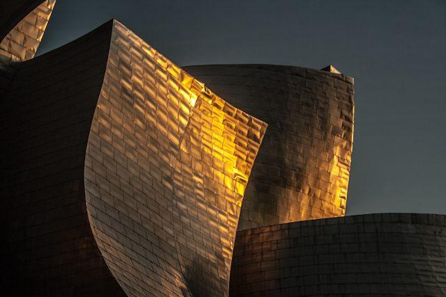 Bilbao Guggenheim Puesta Sol