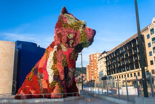 Bilbao Guggenheim Puppy Jeff Koons