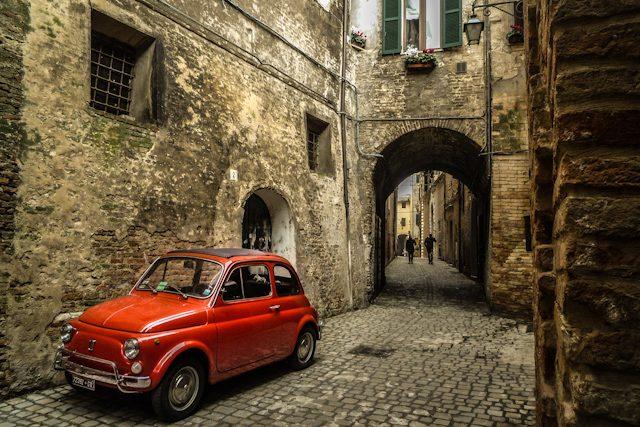 Italia Jesi Muralla