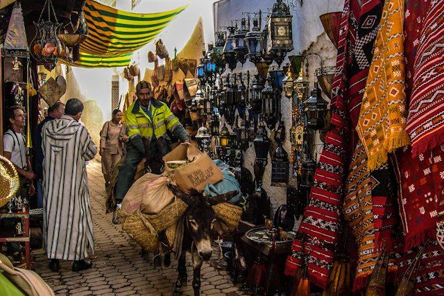 Marruecos Fez Medina Basura