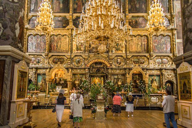 Moscu Monasterio Iconostasio