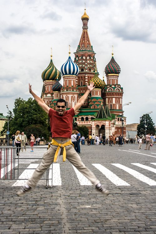 Rusia Moscu San Basilio Salto