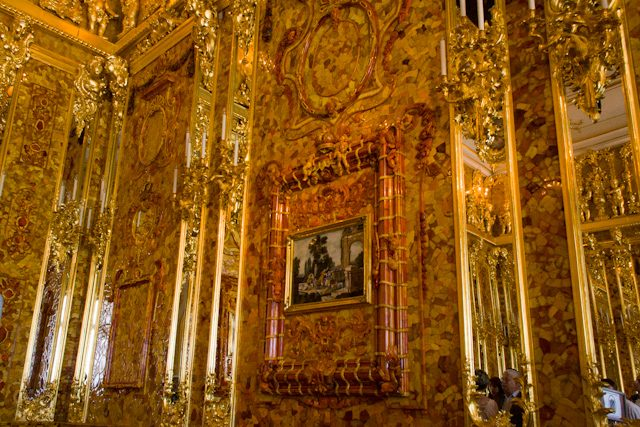 Rusia Pushkin Palacio Catalina Salon Ambar