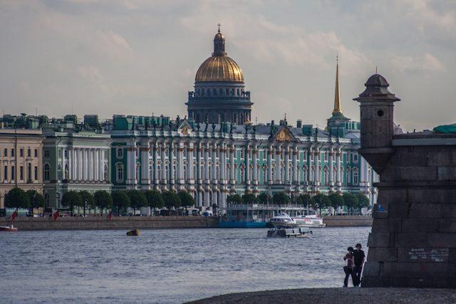 Rusia San Petersburgo Hermitage Rio Neva