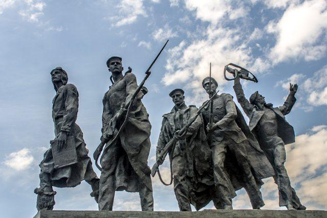 Rusia San Petersburgo Monumento Sitio Stalingrado