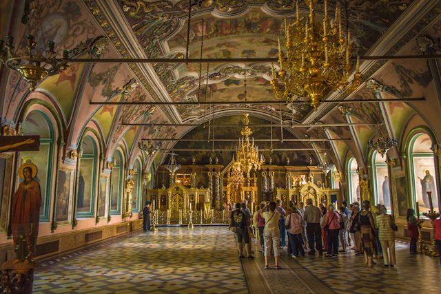 Rusia Serguiev Posad Interior Palacio