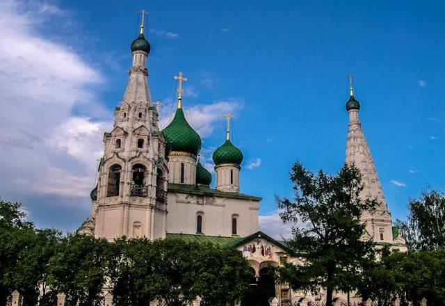 Rusia Yaroslavl Iglesia Elias Profeta