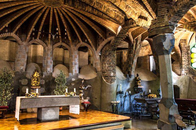 Barcelona Colonia Guell Cripta Gaudi