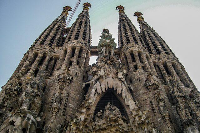 Barcelona Sagrada Familia Gaudí