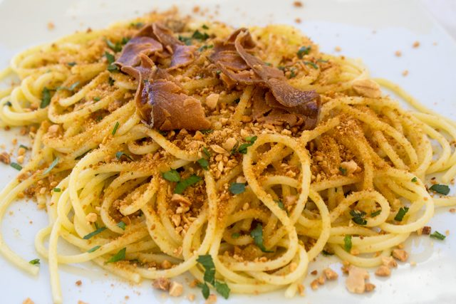 Italia Favigana Spaghetti Bottarga