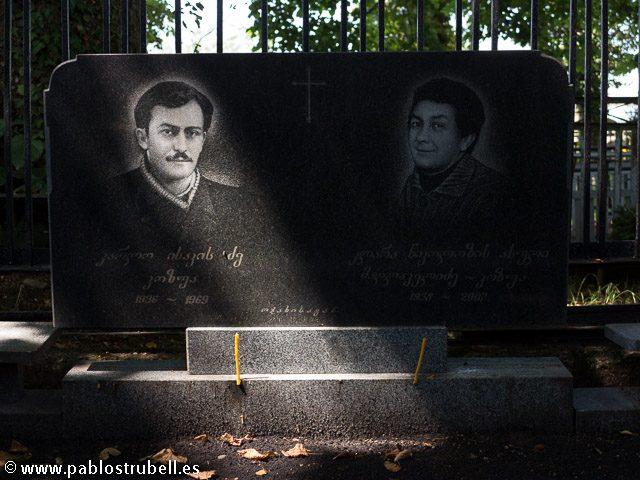 Lapidas Georgia Pablo Strubell