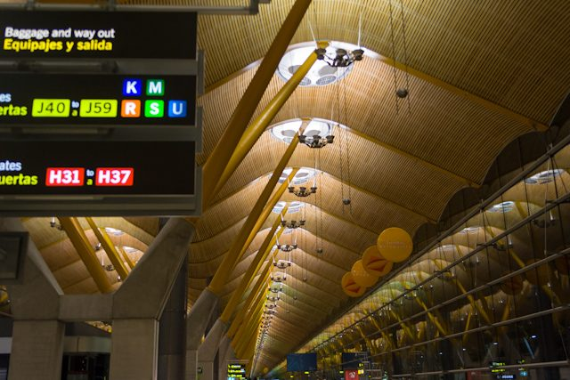 Madrid Aeropuerto Barajas Adolfo Suarez