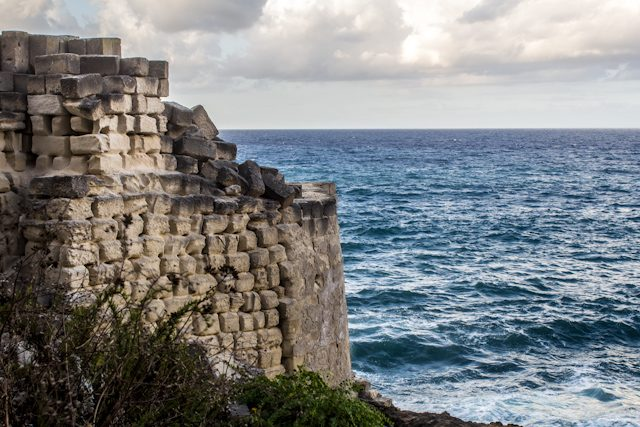 Sicilia Favignana Cava Madonnina Conci Mar