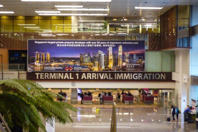 Singapur Aeropuerto Changi