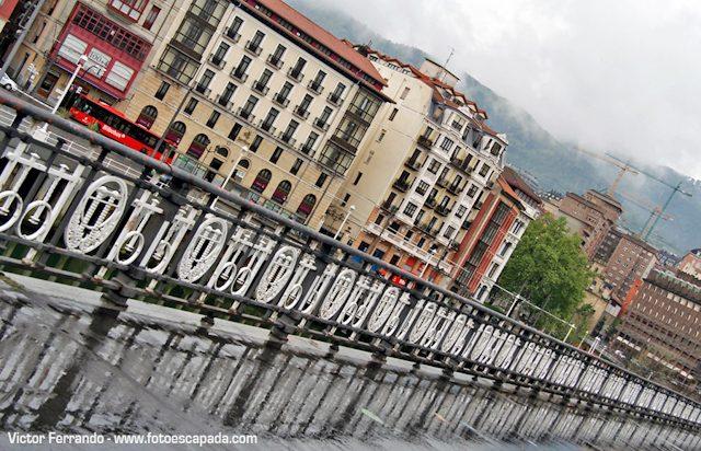 Bilbao lluvioso Victor Ferrando