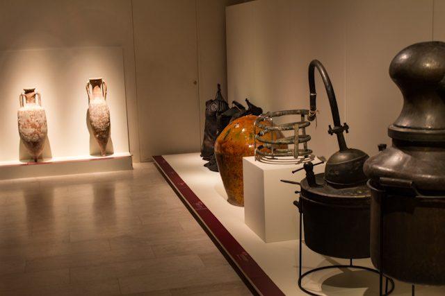 Barcelona Vilafranca Penedes VINSEUM Exposicion