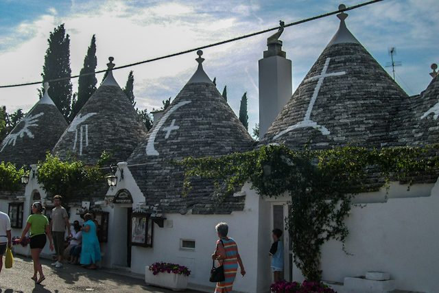 Alberobello Trulli Simbolos Magicos