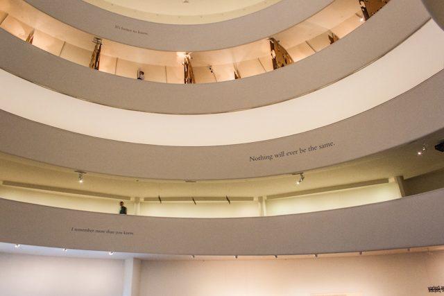 Arquitectura Contemporanea Nueva York Guggenheim Frank Lloyd Wright