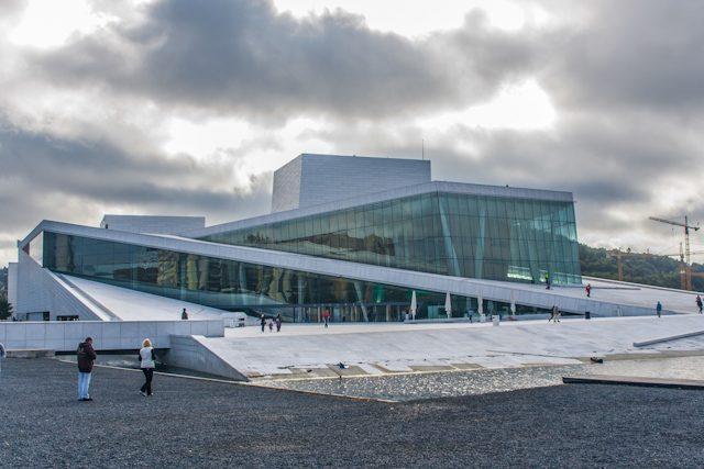 Arquitectura Contemporanea Oslo Estudio Snohetta Opera