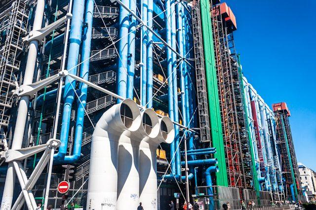 Arquitectura Contemporanea Paris Renzo Piano Pompidou
