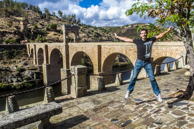 Caceres Alcantara Puente Salto