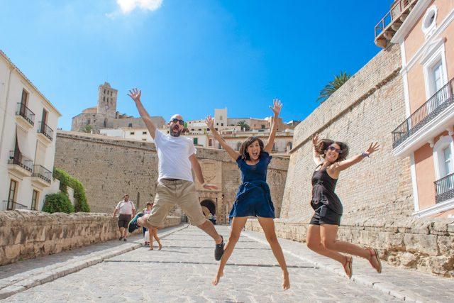 Ibiza Dalt Vila Salto
