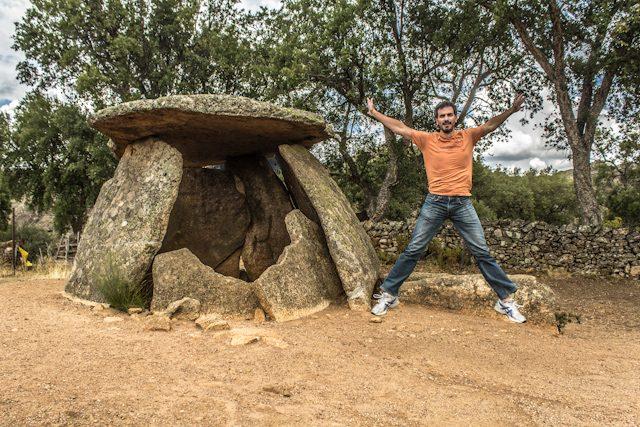 Parque Tajo Internacional Prehistoria Dolmen Mellizo Salto