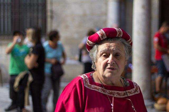 Perpignan Trobades Medievales Mujer