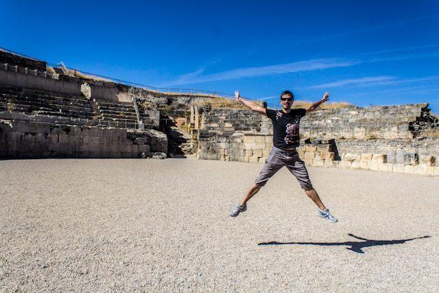 Parque Arqueológico Segobriga Anfiteatro Salto