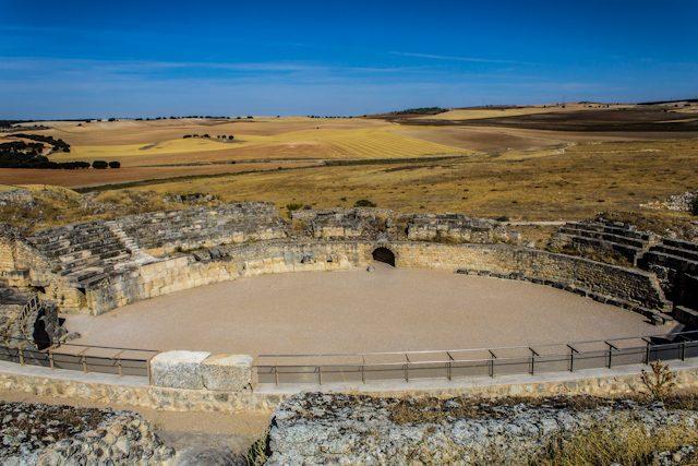 Parque Arqueológico de Segobriga Anfiteatro Vista