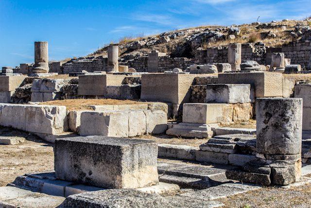 Parque Arqueológico de Segobriga Foro Restos