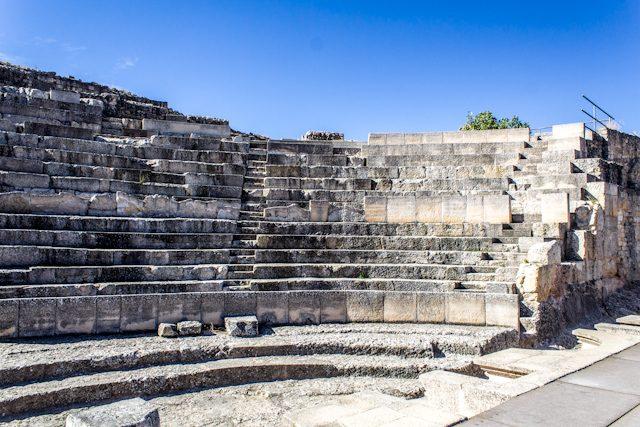 Parque Arqueológico de Segobriga Teatro Gradas
