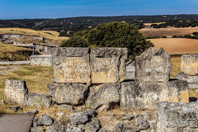 Parque Arqueológico de Segobriga Teatro Inscripciones Romanas