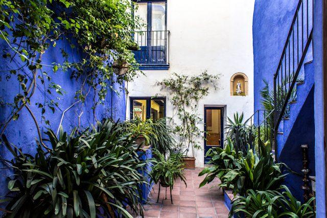 Sitges Centro Pati Blau Patio Azul