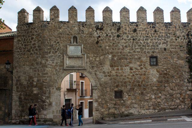 Alcarria Guadalajara Brihuega Muralla