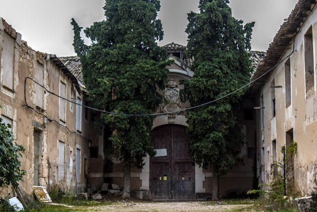 Alcarria Guadalajara Brihuega Fabrica Paños