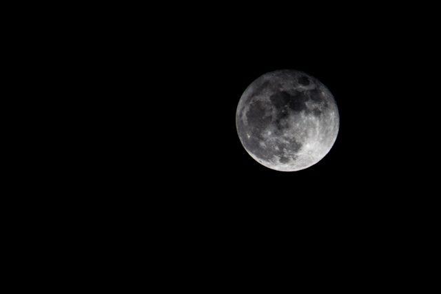 Alcarria Guadalajara Hontanares Nocturna Luna