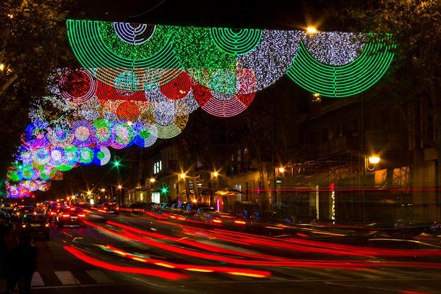 Madrid Luces Navidad Calle Velazquez Teresa Sapey