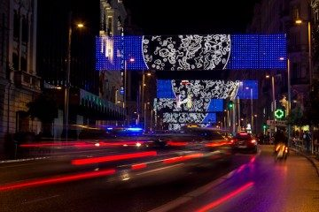 Madrid Luces Navidad Gran Via Ben Busche
